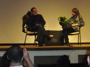 At a Muppet movie festival in 2008