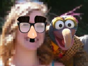 Me and Gonzo in '07, pixelated to protect my secret client-facing identity