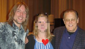 Steve Whitmire, who's played Kermit since Jim Henson's death, myself, and Dave Goelz, who plays Gonzo